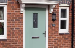 duck egg blue composite doors exterior