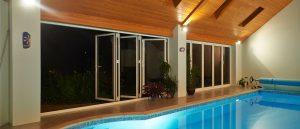interior aluminium bi-fold doors