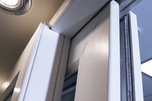 white interior patio doors